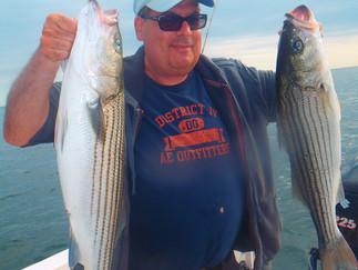 Striper limit in 30 min of fishing