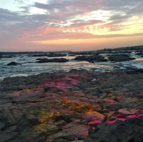 Holi Sunrise by Rosie Smart-Knight