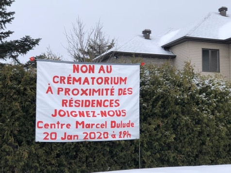 Saint-Bruno-de-Montarville rejects crematoria proposal