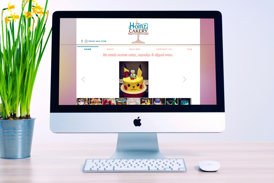 The Home Cakery Website