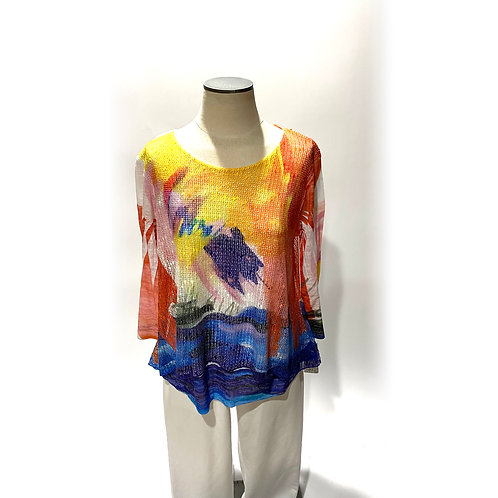 Monet Top with Lining