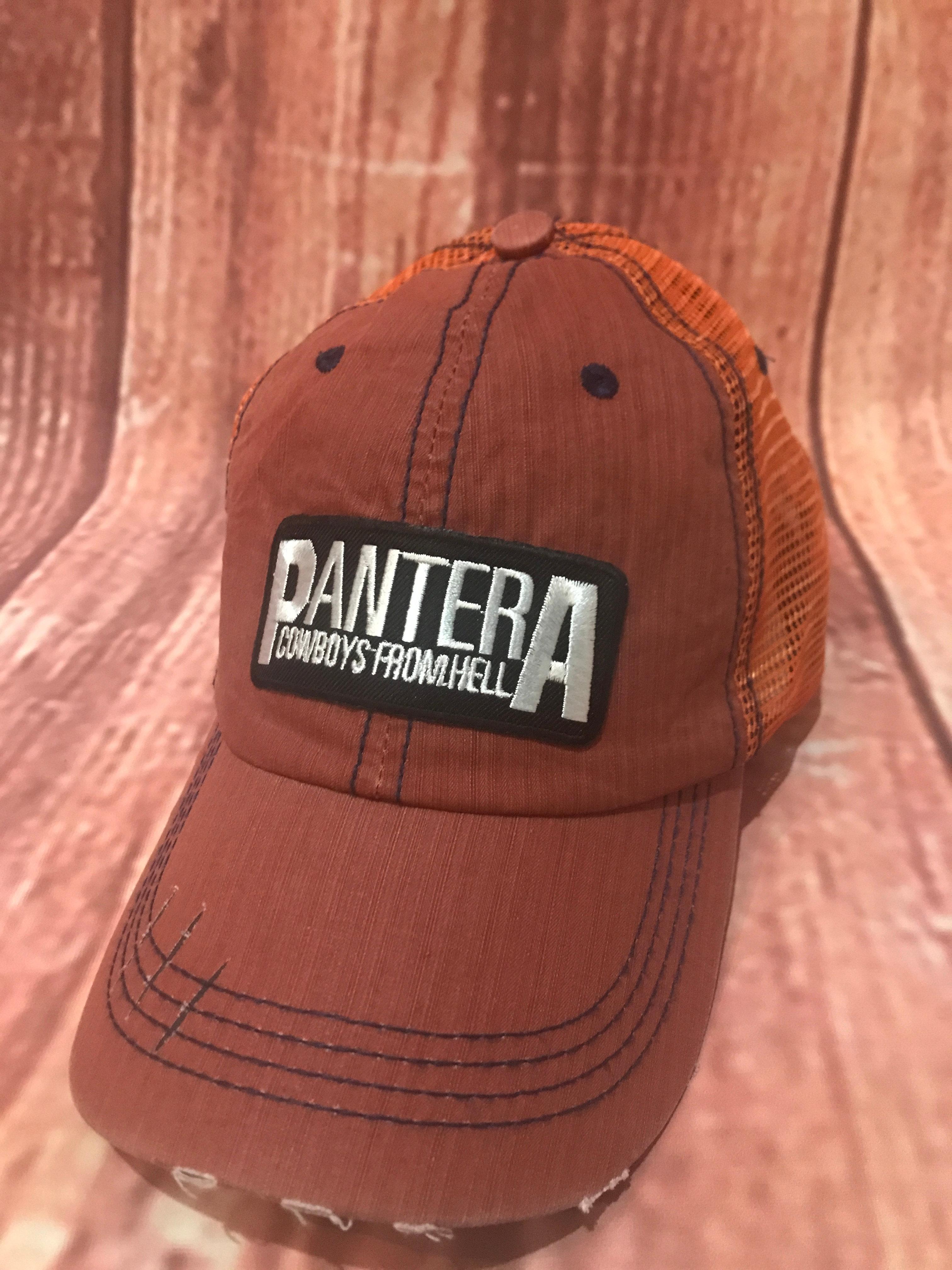 f92d2380900fa Pantera Mesh Trucker Cap