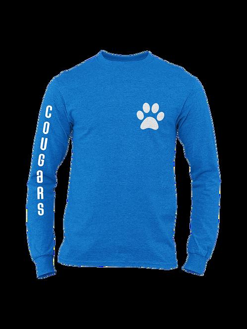 Cougars sleeve Jersey long sleeve tee