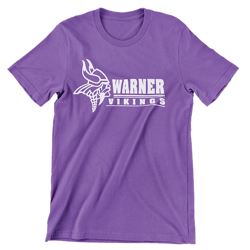 Warner Vikings purple super soft t-shirt