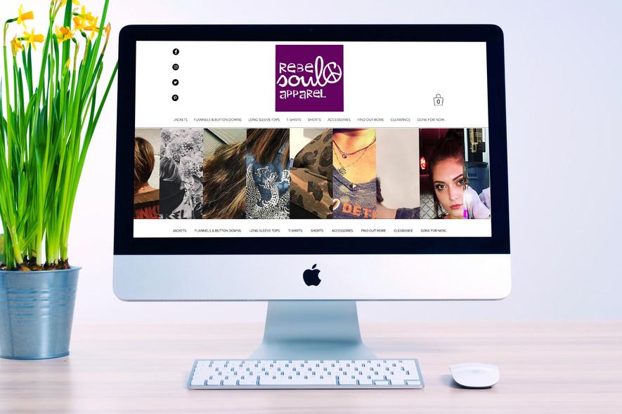 Rebel Soul Apparel Website