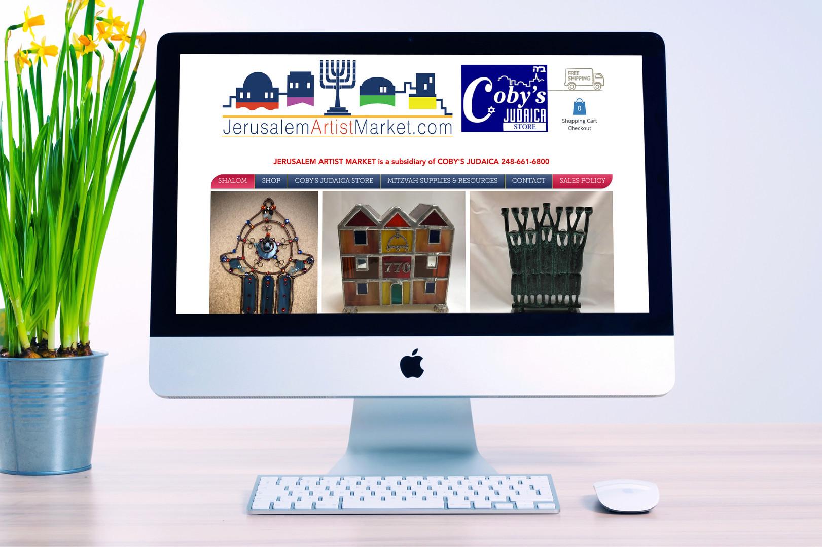 Jerusalem Artist Market Website
