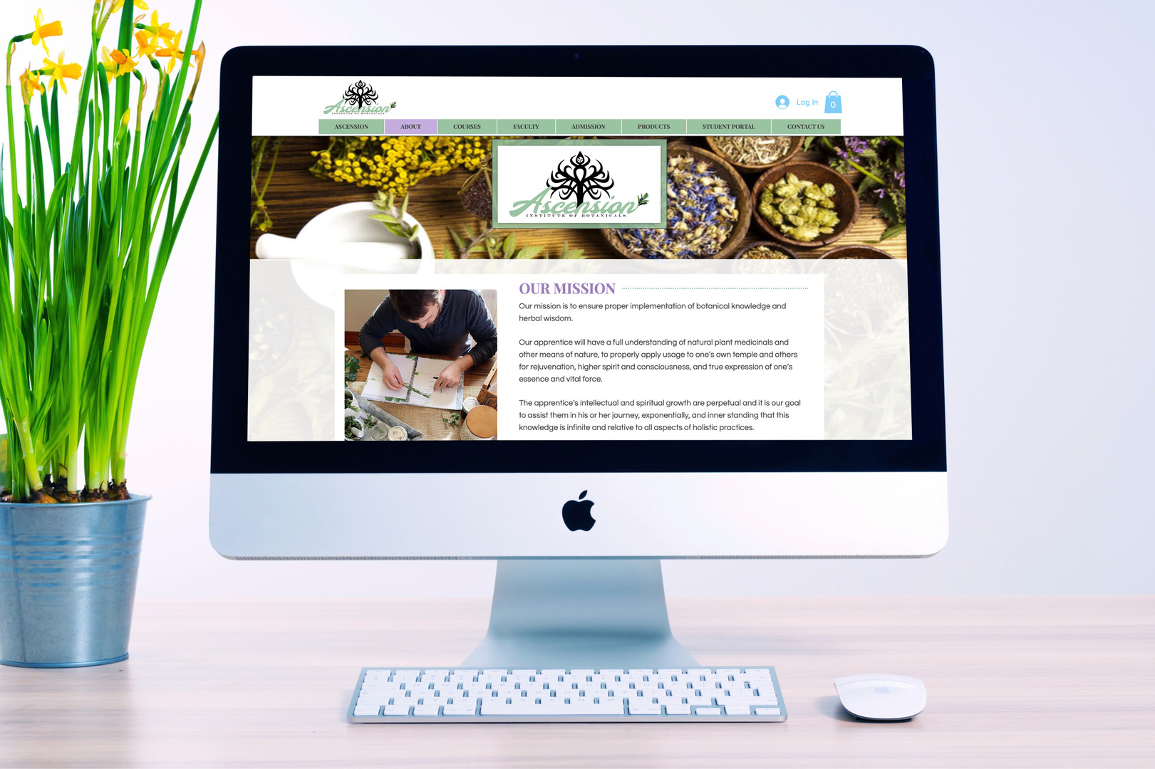 Ascension Website