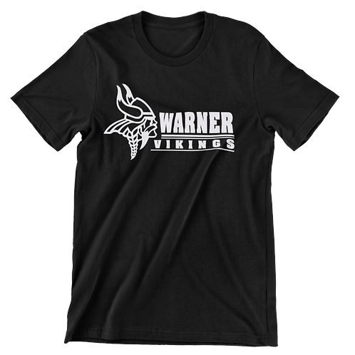 Warner Vikings black super soft t-shirt