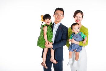 Stüdyo Aile Fotoğrafı