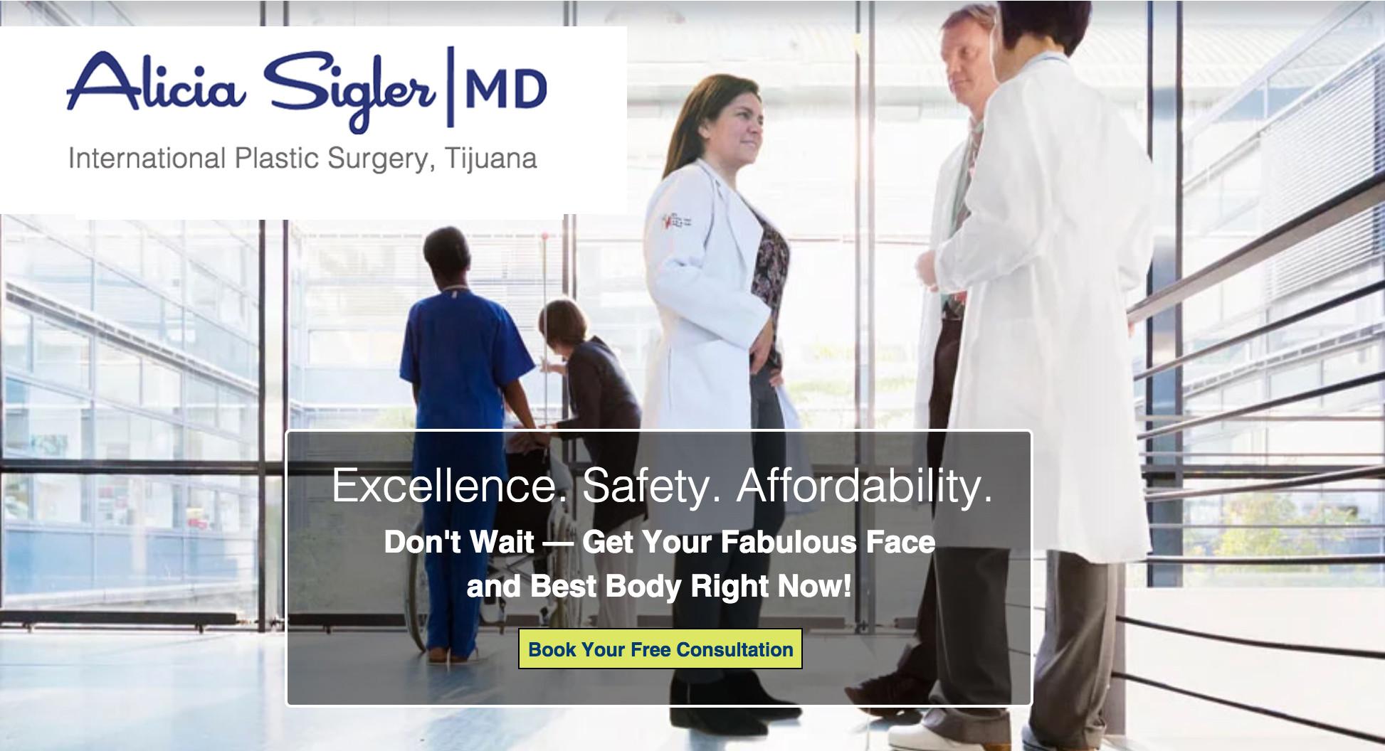 Board Certified Plastic Surgeon | Tijuana | Alicia Sigler MD