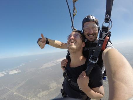 Fallschirmspringen in Kapstadt