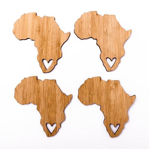Untersetzer Afrika Liebe
