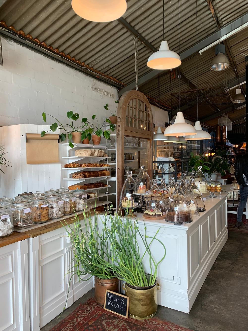 Wunderschöner Coffee Shop in Südafrika, nahe Kapstadt