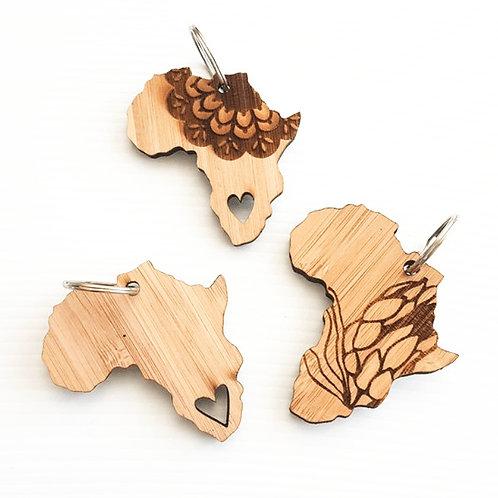 Afrika Liebe Schlüsselanhänger