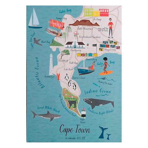 Postkarte Cape Town