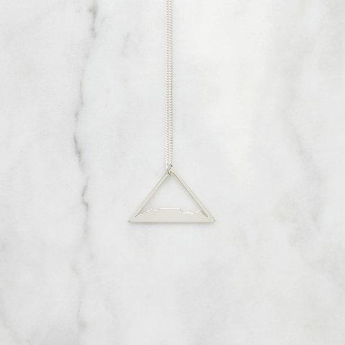 Kette Tafelberg / Sterling Silber Dreieck
