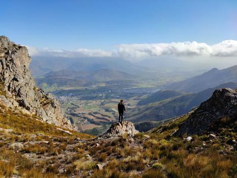 Wandern in Franschhoek - im Mont Rochelle Nature Reserve