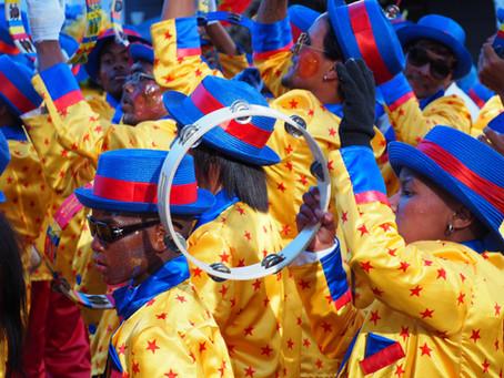 Straßen Parade in Kapstadt: Tweede Nuwe Jaar