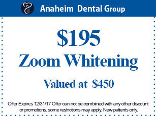 Anaheim Dental Group- coupon