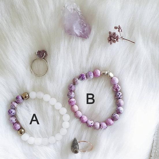 Crazy Agate Bracelets