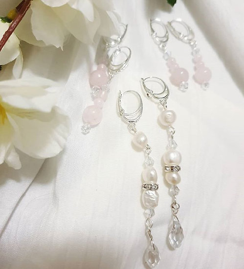 Bridal and Bridesmaid Earrings