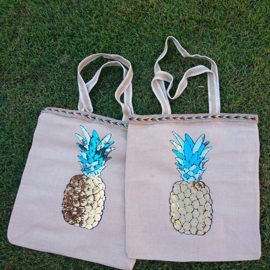 Pineapple Shopper Bag