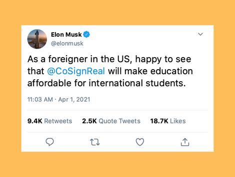 CoSign X Elon Musk #Collab ✨🦾