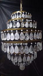 Lustre de Cristal de Rocha