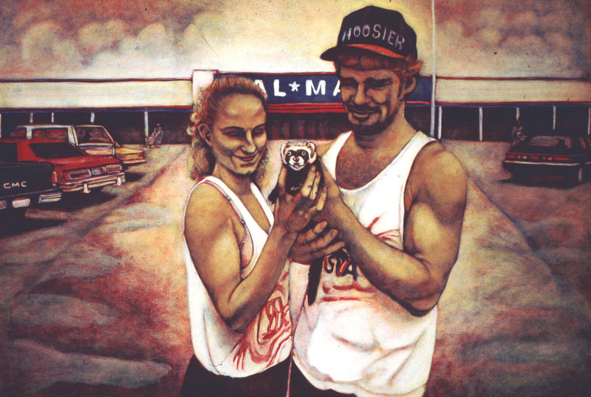 Walmart Couple