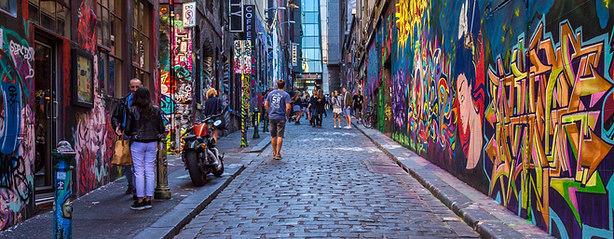 Hosier Lane Grafitti