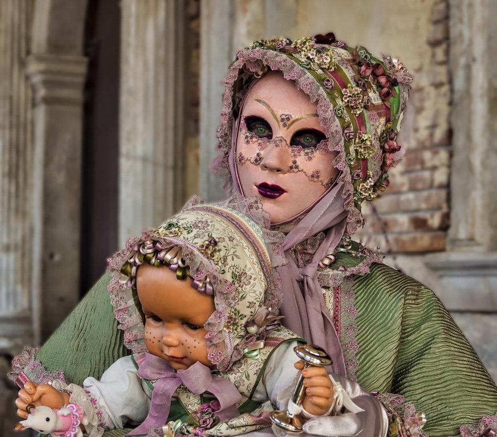 Venetian Masquerade Character