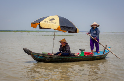 The Ladies of Kroko Floating Village