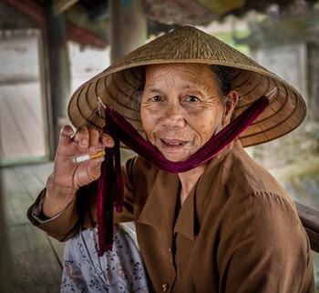 Vietnamese Local Lady