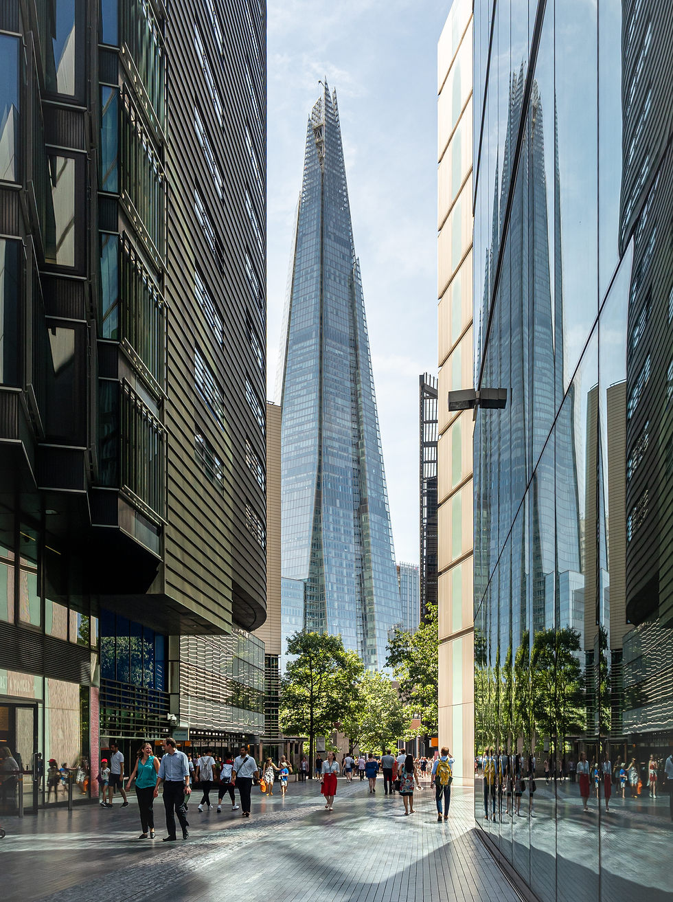 The Shard and Reflections