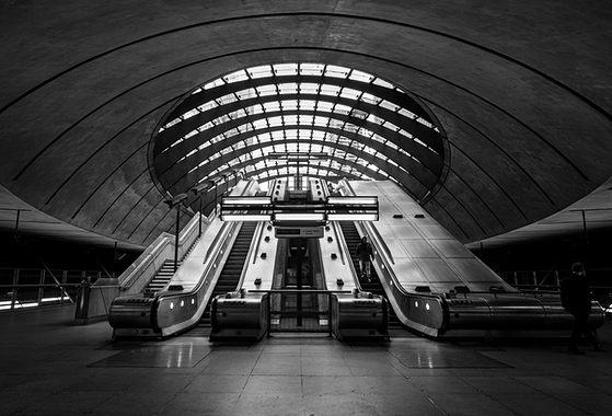 Canary Wharf Escalator