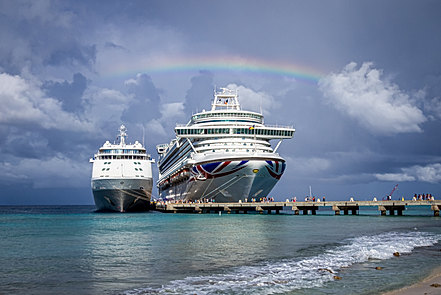 Azura and Silver Shadow In Grand Turk