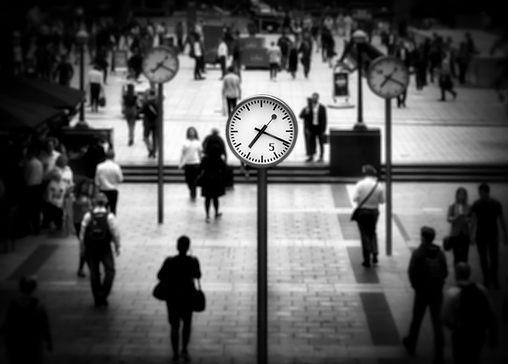 Canary Wharf Clocks