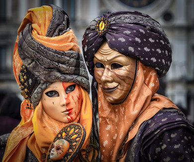 Venetian Masquerade Characters