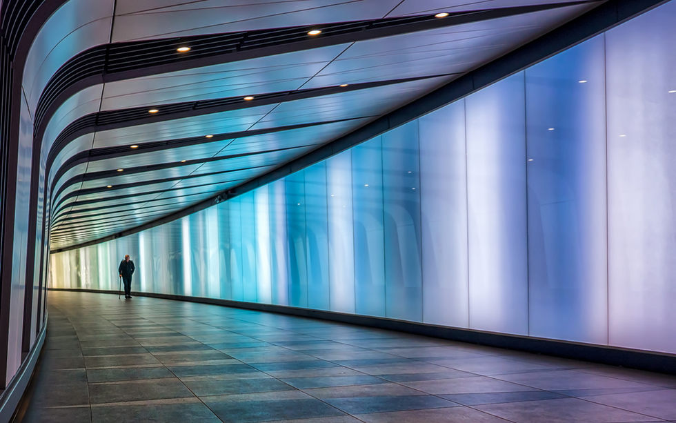 The Coloured Tunnel at King's Cross