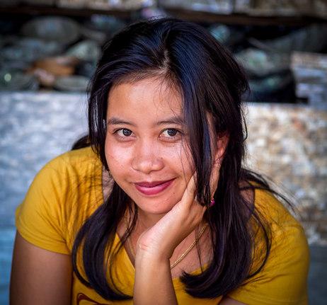 A Face in Bali