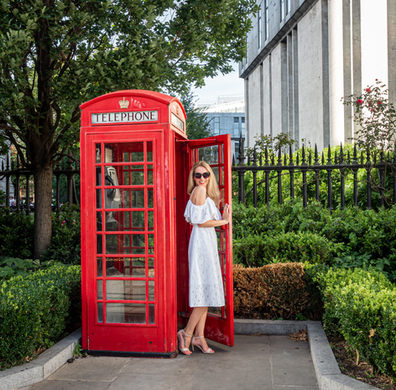 The Lady and the Phone Box