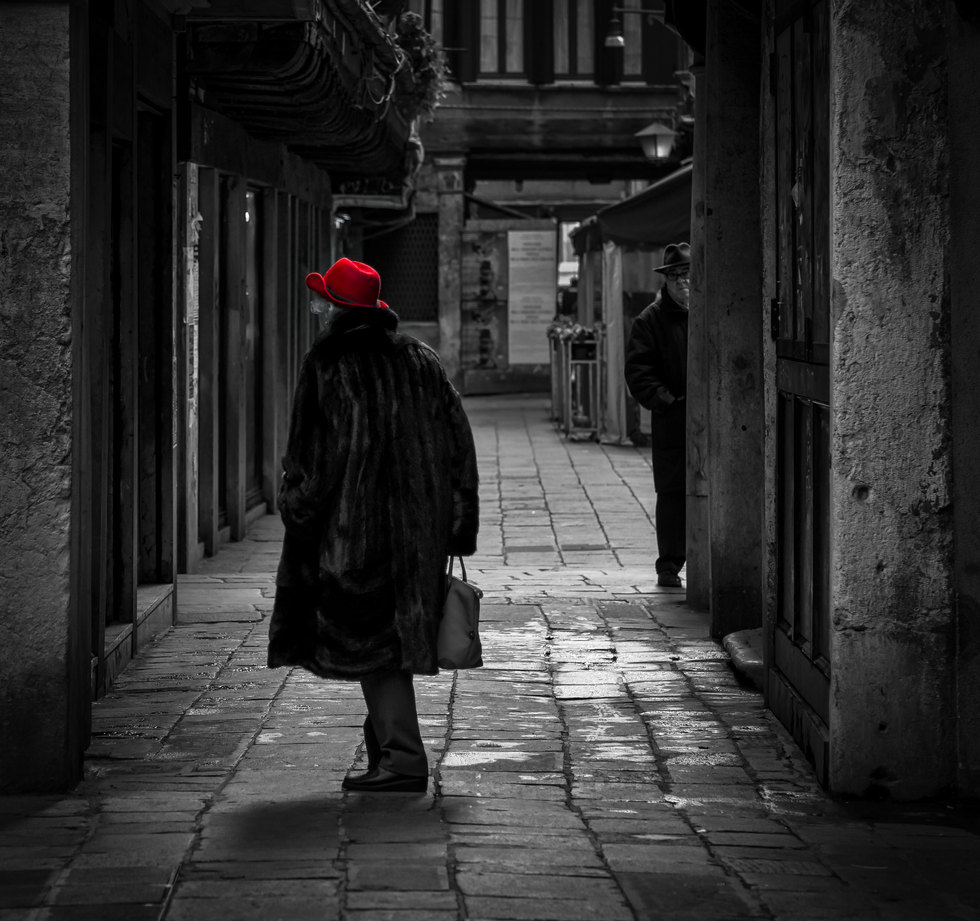 Lady with the Red Hat