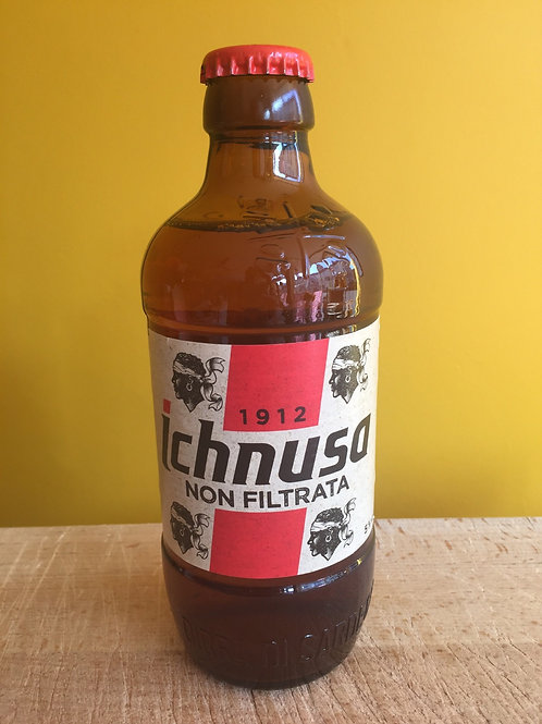 Ichnusa beer unfiltered - 33cl