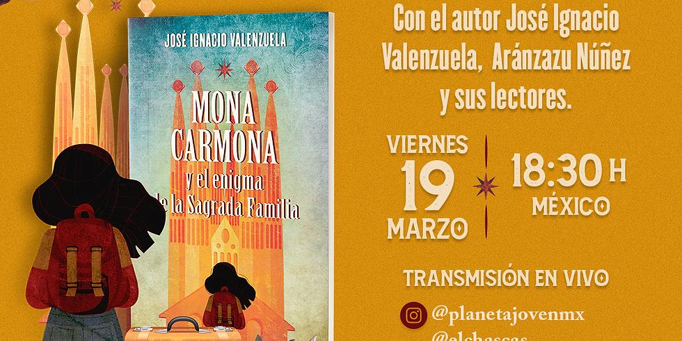 Presentación virtual del libro Mona Carmona