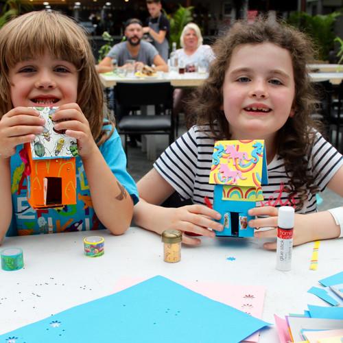 Mini Houses Party