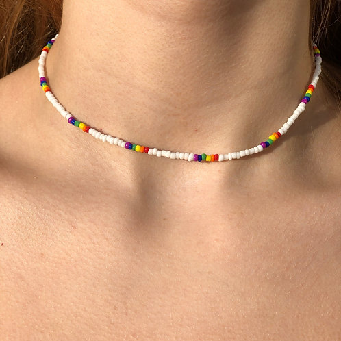 Rainbows and Sherbert Necklace