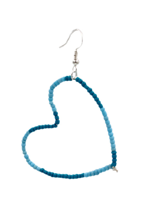Blue Blocks Heart