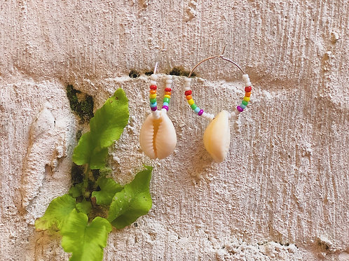 Rainbows and Clouds Earrings