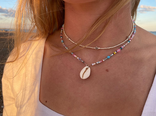 All Sorts Cowrie Shell Necklace