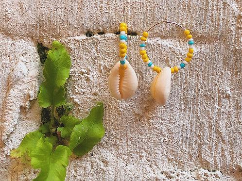 Sandy Sea Earrings